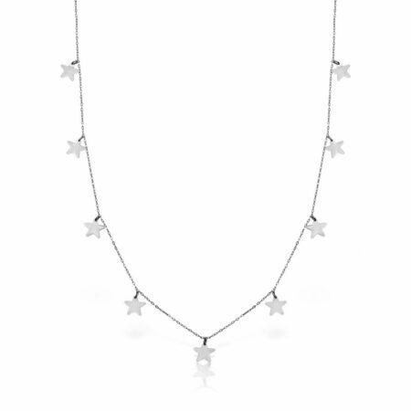lantisor aur alb 14k mijoux LSA 09s