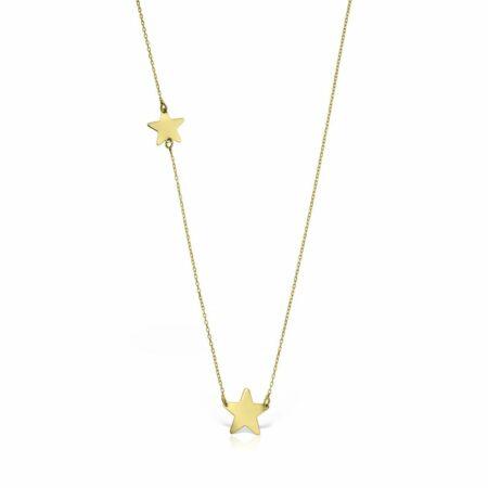 lantisor aur galben 14k mijoux LSG 02 stelute