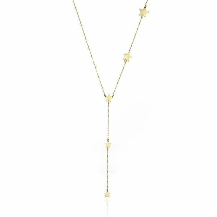 lantisor din aur galben de 14k mijoux LSG 05