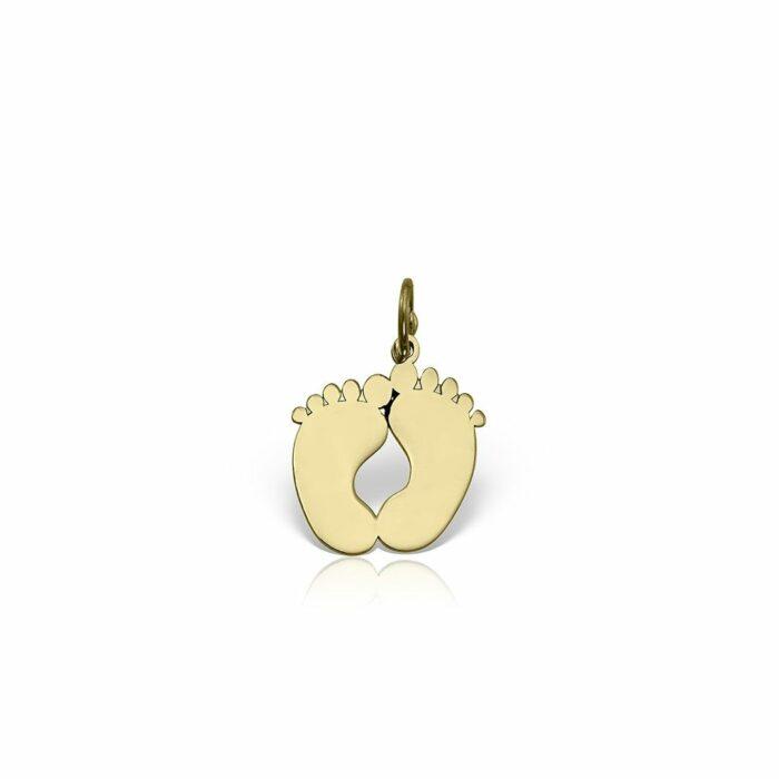 pandantiv din aur galben de 14k mijoux PEG 02b