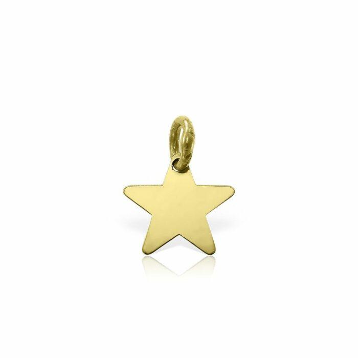 pandantiv din aur galben de 14k mijoux PSG 01b