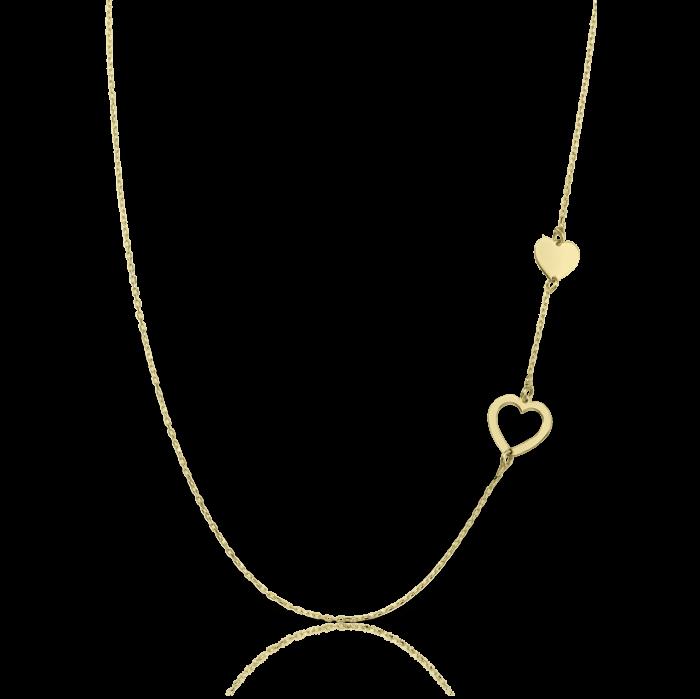 lantisor din aur de 14k natalie galben