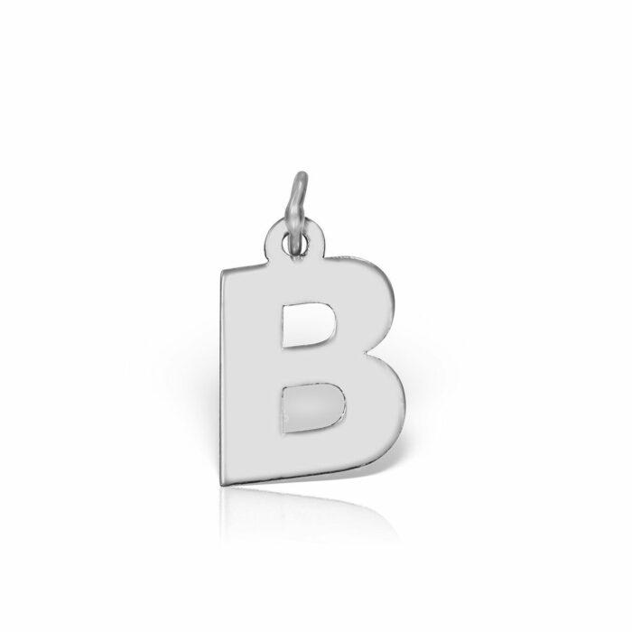pandantiv din aur alb de 14k mijoux PIA B