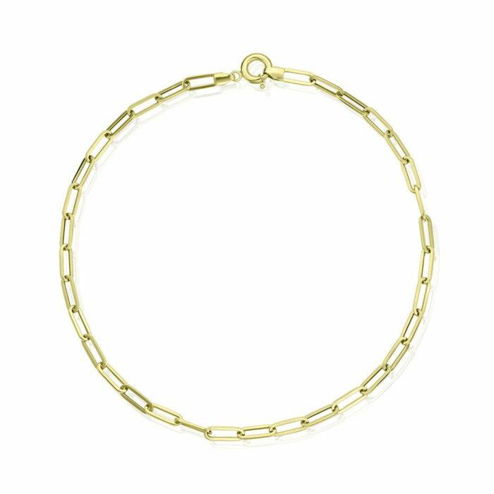 lantisor din aur galben de 14k mijou LGG 010