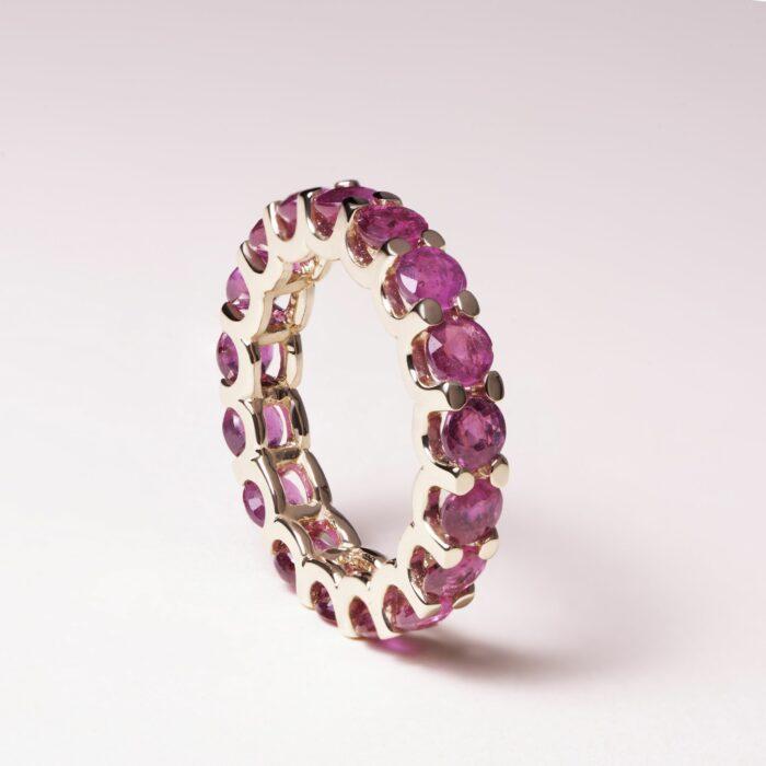 inel din aur cu pietre pretioase rubine mijoux p1 IDR S R