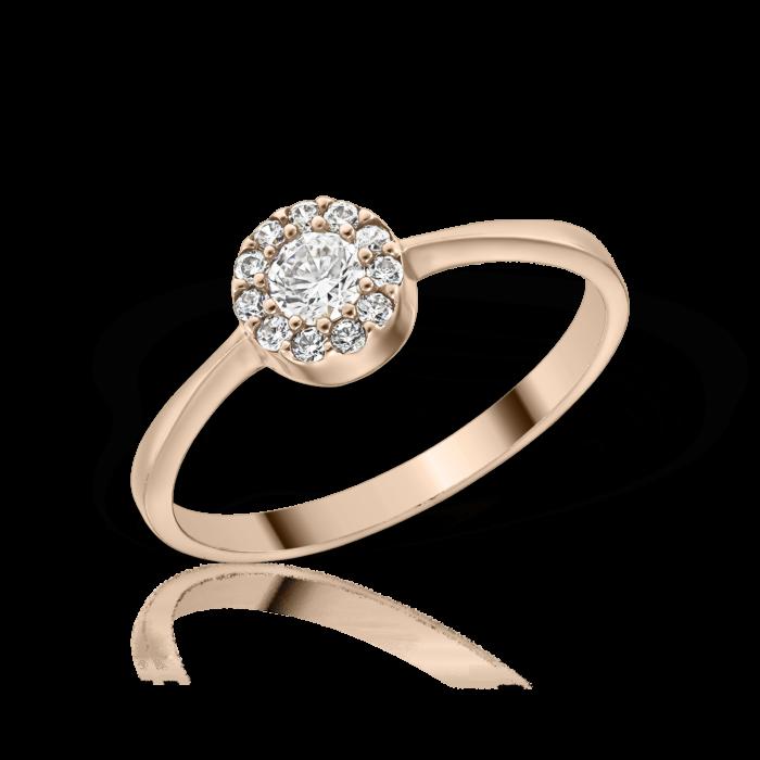 inel din aur de 14 k mijoux kelly IBWR 01 A