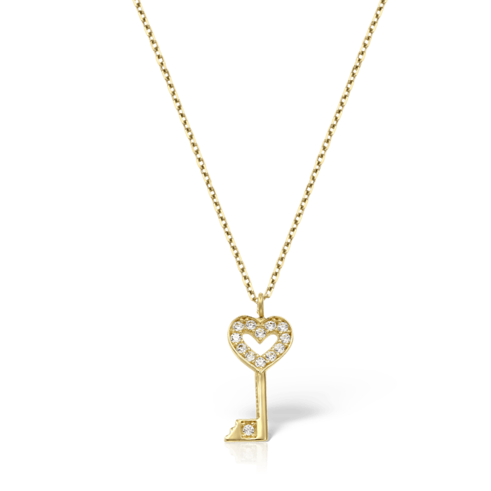 lantisor din aur de 14 k mijoux alyssa LBWG 013 A