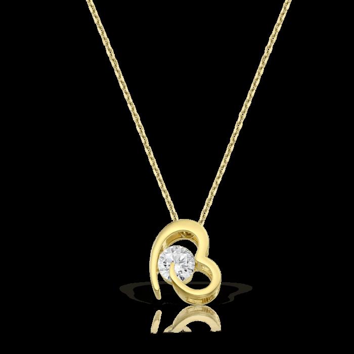 lantisor din aur de 14 k mijoux amy LIG 1PA