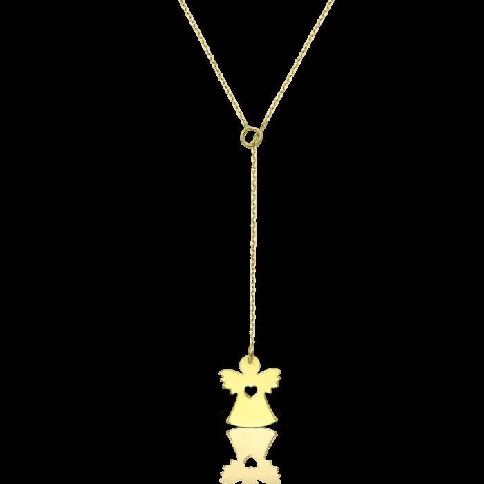 lantisor din aur de 14k mijoux angel c LEG 02C